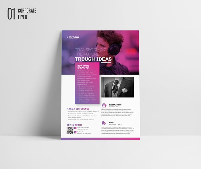 Free Indesign Flyer Templates: +40 Best Free Flyer Templates In Adobe InDesign