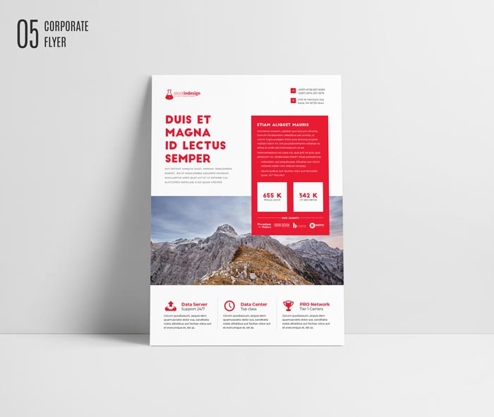 Free Flyer Template for Adobe InDesign