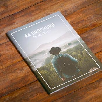 Freebie PSD A4 Magazine Brochure