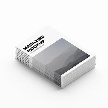 stacked magazines mockup free