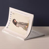 cover magazine mockup presentation