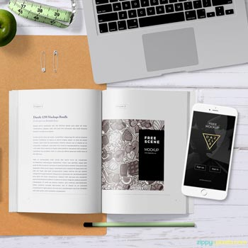 Plantilla Gratis de Ebook para iPhone
