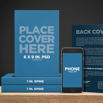 Big Book Promo Template with Ereader