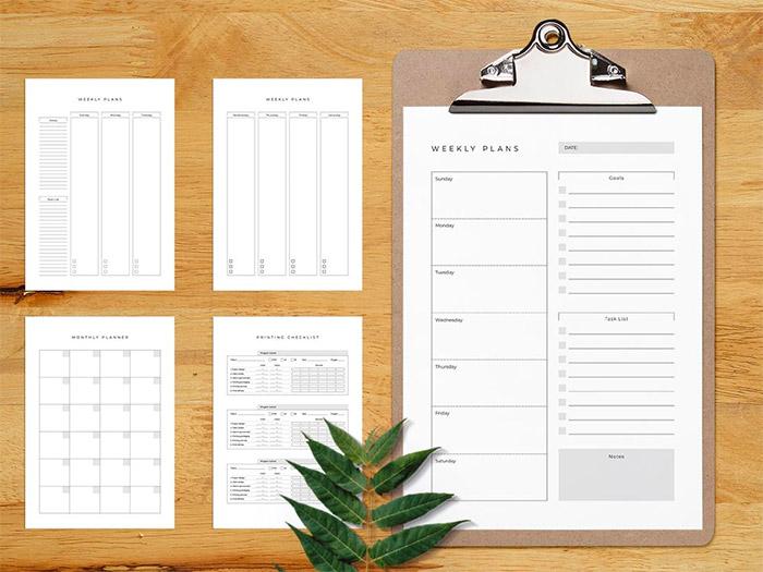 Printable Planner Template