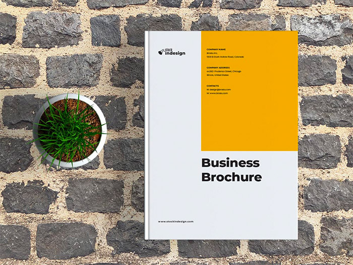 Free Corporate Brochure Template