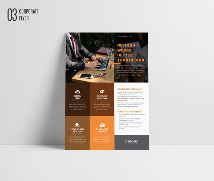 10 FREE InDesign Flyer Templates for InDesign | Bundle Vol 2