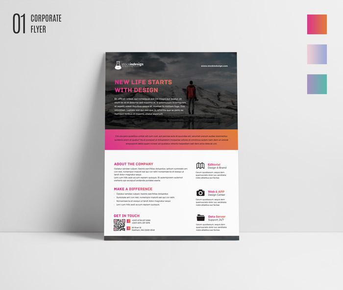10 FREE InDesign Flyer Templates for Adobe InDesign | Bundle Vol 1