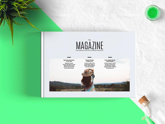 Minimal Magazine Landscape