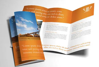 INDUSTRIAL MINING TRIFOLD BROCHURE