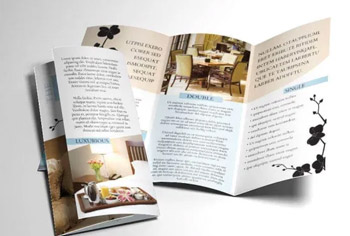 BED AND BREAKFAST HOTEL BROCHURE