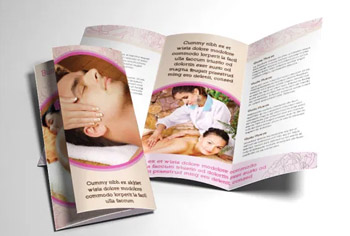 FANCY SPA AND MASSAGE BROCHURE