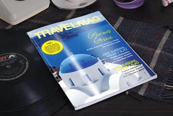 Travel Magazine Cover