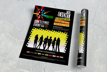 Bold and Vivid Event Flyer