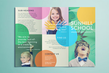 School Brochure Template