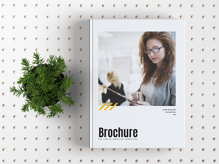Free Corporate Brochure Template for Adobe InDesign